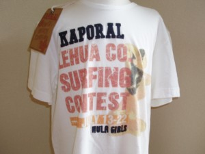 Kaporal t-shirt contest surfing wit