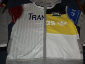 Hoody vest adidas team mt 152